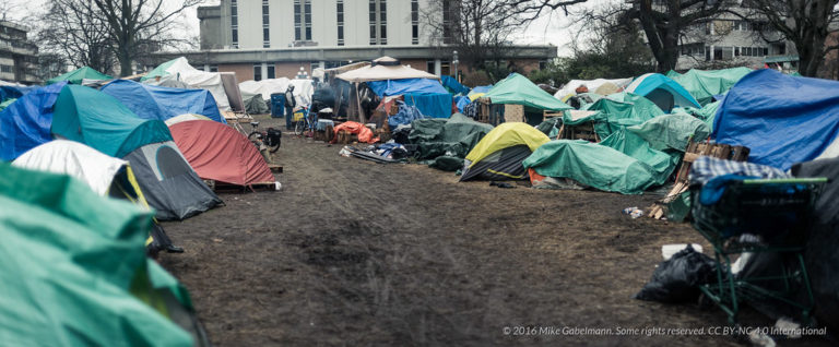 A National Protocol for Homeless Encampments in Canada: A Human Rights Approach