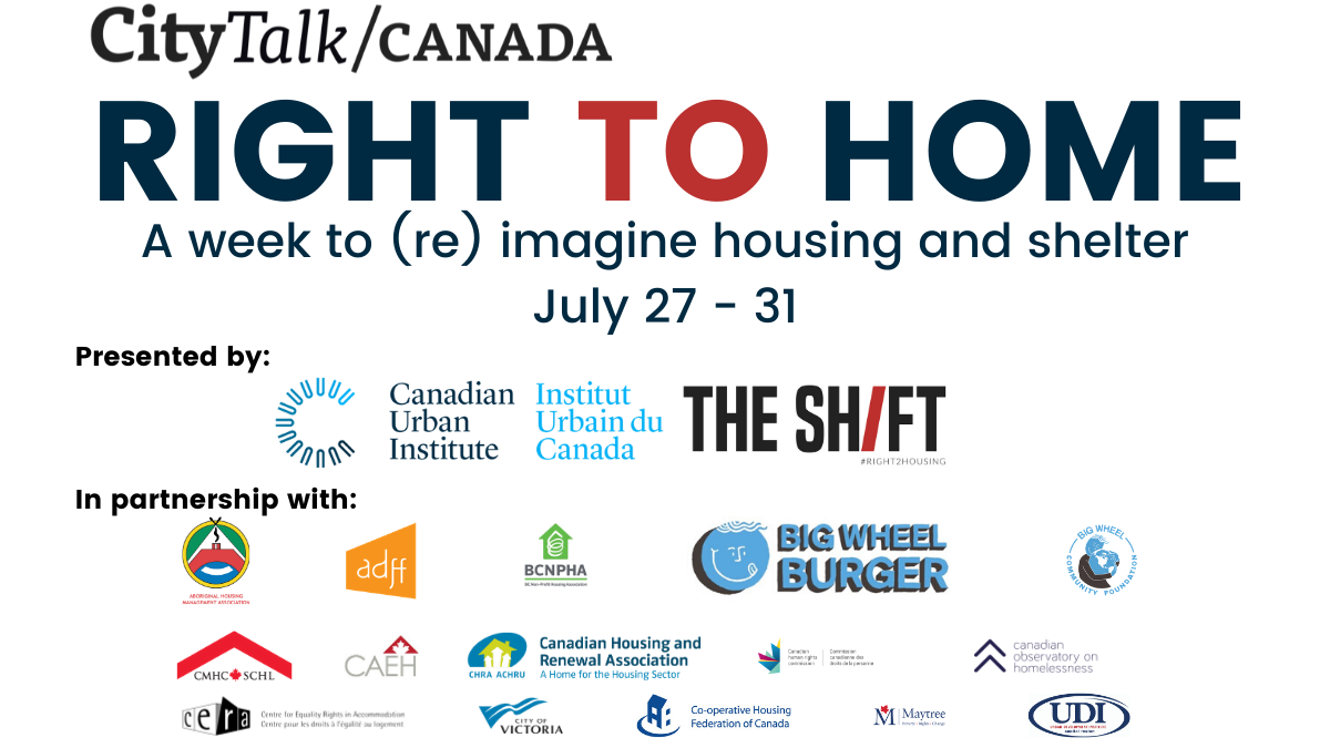Right to Home: 16 national organizations partner to announce a week of virtual events engaging with housing, homelessness, human rights and COVID-19